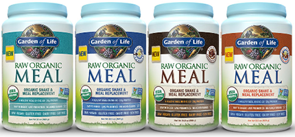 Garden of Life Meal replacement shakes