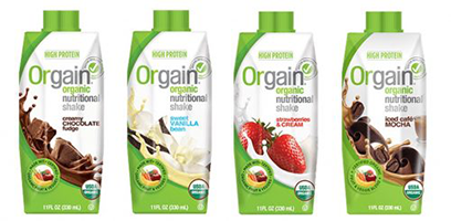 Orgain Organic Meal replacement shake