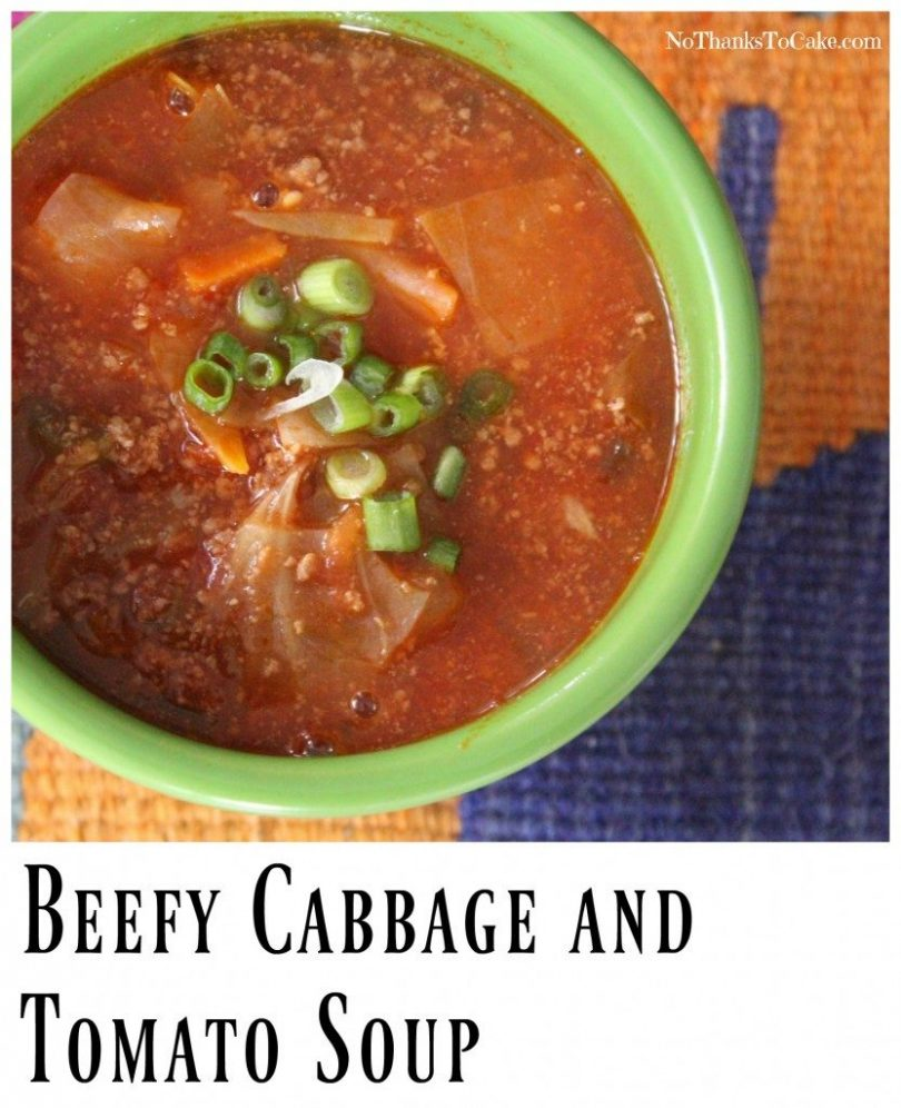 Beefy Cabbage And Tomato Soup Weight Loss Prodigy